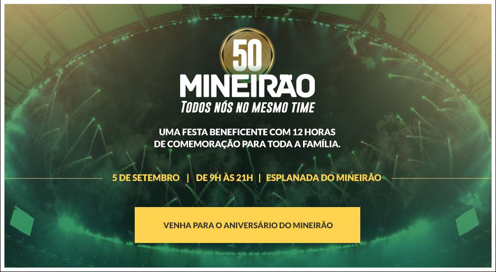 mineirão 50anos